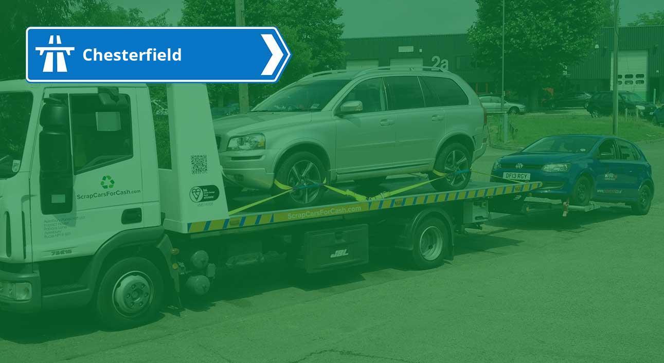 Scrap My Car Chesterfield | Scrap Cars For Cash