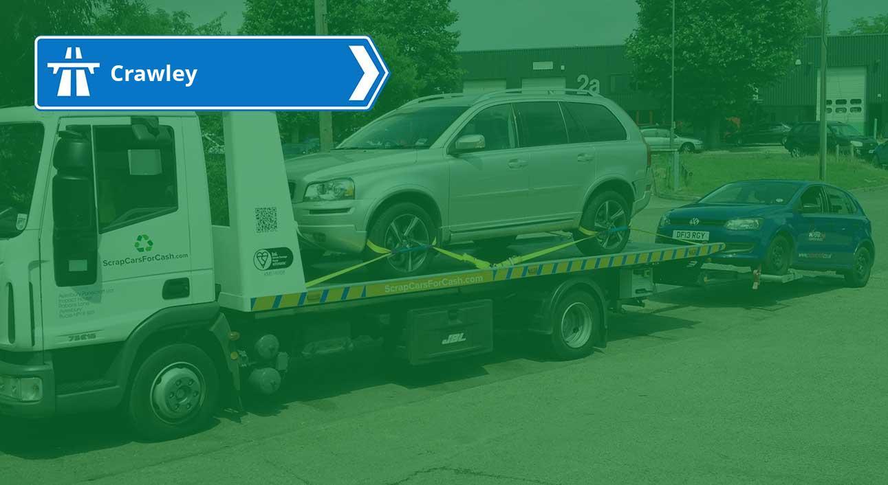 Scrap your car in Crawley   Scrap Cars For Cash